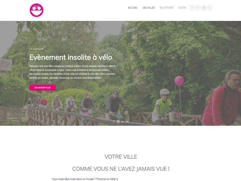 Nouveaux sites VELOTOUR