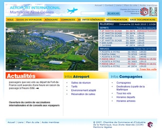 Aéroport Aimé Césaire – Martinique - CCI