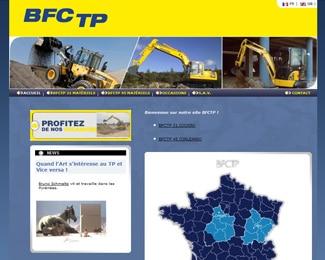 Référence création site fabrication et industrie : BFCTP – SBMTP – BOBCAT Pays de Loire