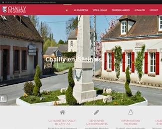 Référence création site public, collectivité : Chailly-en-Gâtinais