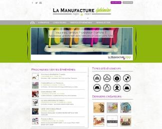 Référence création site médias, web, communication : La manufacture éphémère