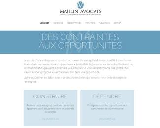 Référence création site commerce, e-commerce : Maulin Avocats – Droit de la concurrence, distribution et consommation